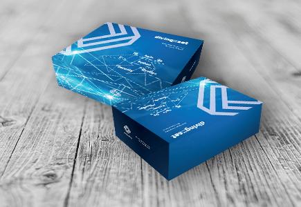 Projekt graficzny obrandowanych pudełek reklamowych